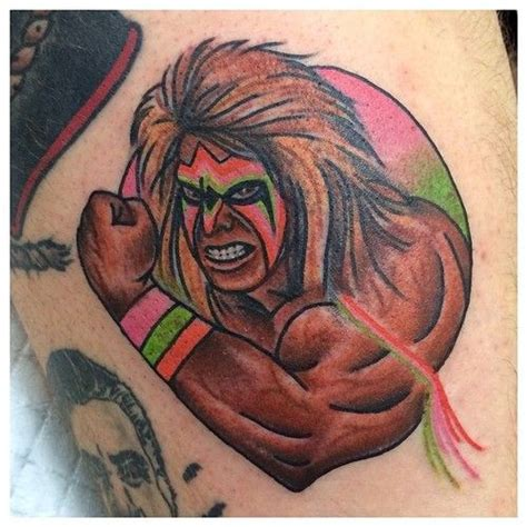 ultimate warrior tattoo 37 best malarkey images on becky
