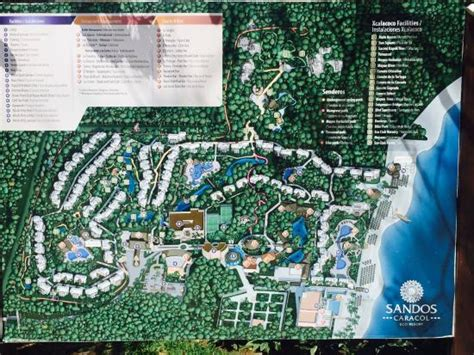 eco resort map food on the picture of sandos caracol eco resort