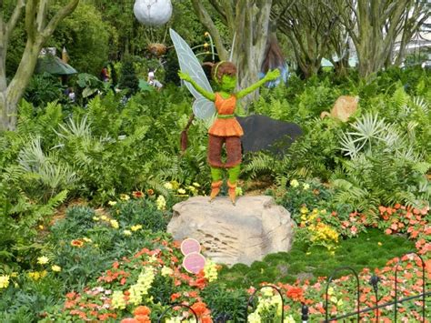 hollow garden pixie hollow garden disney epcot s flower and