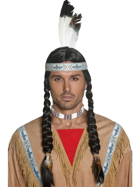native male styles native american men s wig men s indian wig indian wig