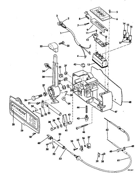 evinrude control wiring diagram auto electrical wiring