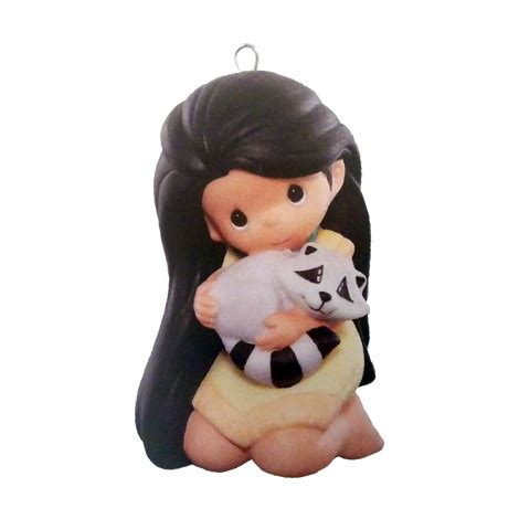 pocahontas disney precious moments hallmark keepsake ornament hooked  hallmark ornaments