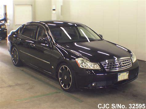 nissan fuga black  sale stock   japanese  cars exporter