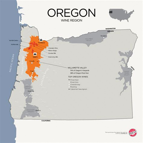 map of oregon regions winetrust heads west introducing domaine drouhin