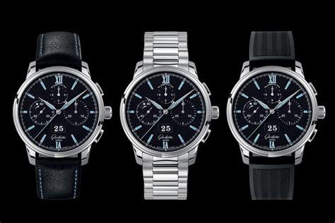 Glashutte Original Senator Chronograph Panorama Date Steel / Black (Baselworld 2017)