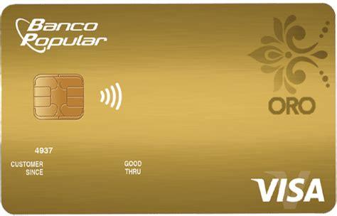 tarjeta visa banco popular tarjetas de cr 233 dito tarjetas de cr 233 dito