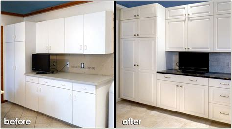 Refacing Laminate Kitchen Cabinets | kitchen cabinet laminate refacing reface laminate