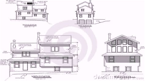 house plans elevation section house plans elevation section youtube