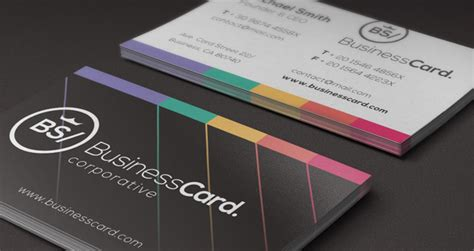 digital printing business card template corporate business card vol 5 business cards templates