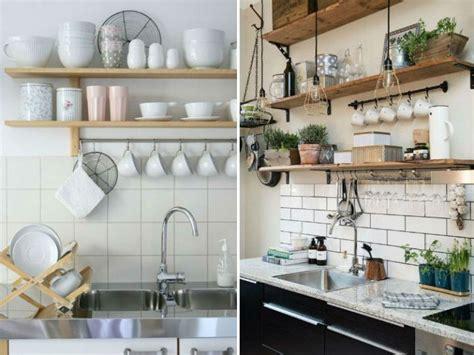formas creativas  decorar tu cocina  repisas
