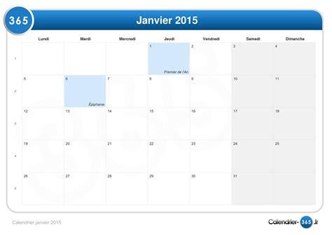 Calendrier Janvier 2015 Calendrier Janvier 2015