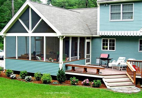 log cabin front porch archadeck outdoor living screened porches archadeck outdoor living