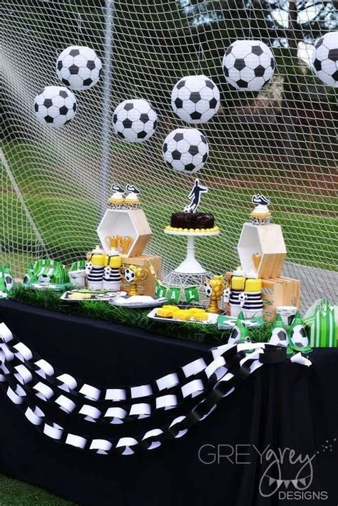 soccer themed birthday decorations best 25 soccer birthday ideas on