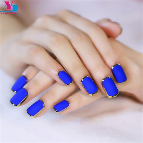 Nail Faux Ongles by Achetez En Gros Bleu Faux Ongles En Ligne 224 Des Grossistes