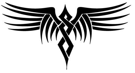 tribal wing tattoo designs tribal wings digital version by dragonish on deviantart
