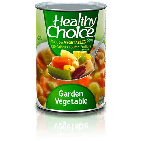 Canned Microwaveable Soups Healthy Choice Healthy Choice Garden Vegetable Soup