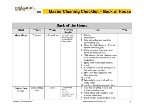 master schedule template search results for home cleaning schedule template