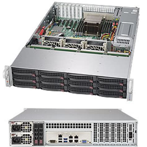 Server Supermicro 6028r supermicro superstorage server 6028r e1cr12l 2u rackmount