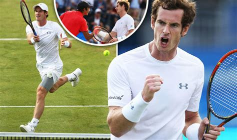 Lu Win andy murray beats yen hsun in comfortbale two set win at s tennis sport express co uk
