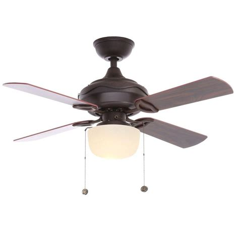bronze ceiling fan newsome 42 in indoor low profile premier bronze