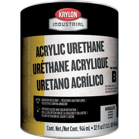 acrylic paint polyurethane krylon k000z6415 14 acrylic urethane hardener