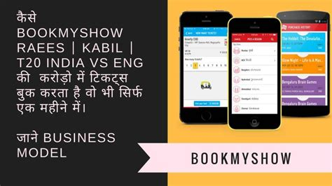 bookmyshow revenue bookmyshow business model all about bookmyshow myonlineca