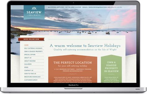 image based marketing sle layout in miscellaneous web portal online holiday park management booking system cms