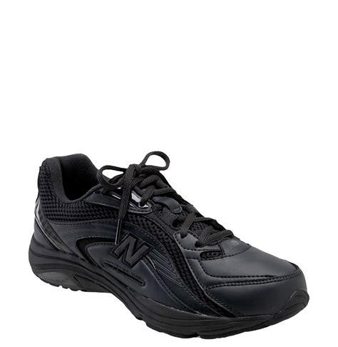new balance 846 walking shoe in black lyst