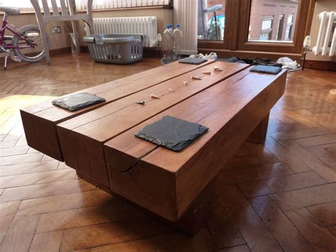 Railway Sleeper Coffee Table Kingsize Bed Coffee Table From Railway Sleepers