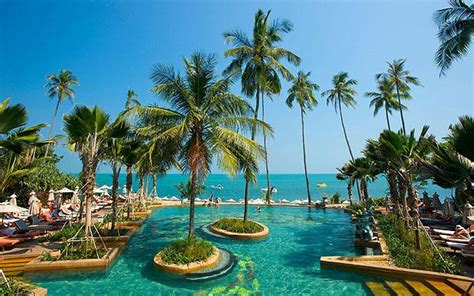 Holiday Spots Between Britain And Australia Telegraph | 10 best beach hotels and resort on samui download pdf