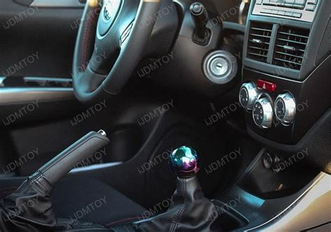 Neo Chrome Gear Knob by Jdm Neo Chrome 5mt 6mt Manual Replacement Shift Knob