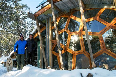Tiny House Real Estate by Mountain Bikers Build Off Grid Tiny House