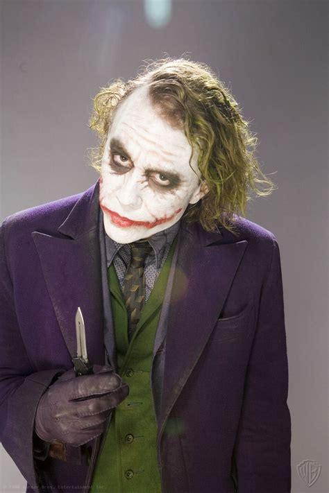 imagenes joker heath ledger grandes fotos promocionales de heath ledger como el joker