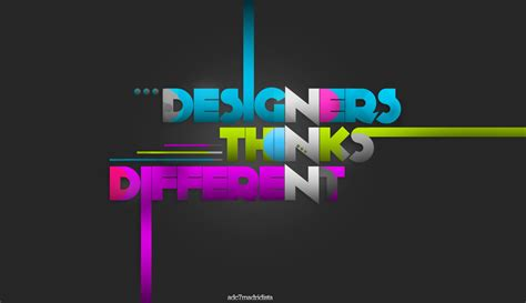 design design designers thinks different by adc7madridista on deviantart
