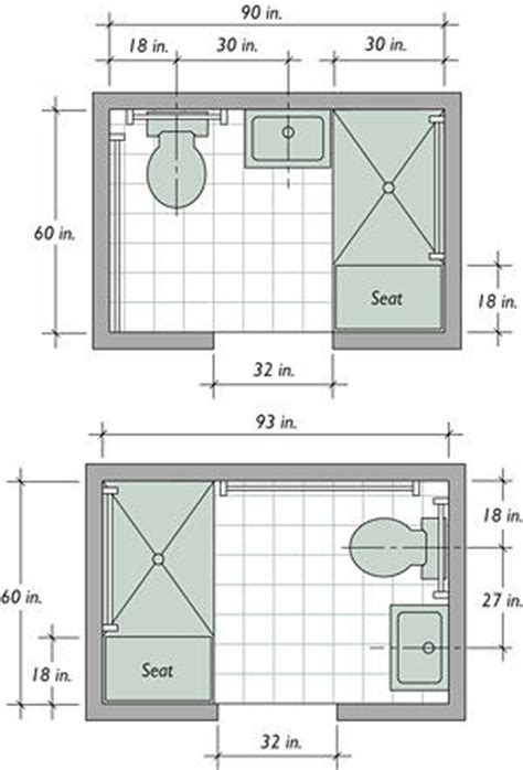 bathroom floor plan ideas best 20 small bathroom layout ideas on tiny