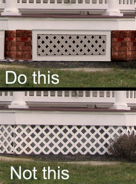 house skirt porch skirting mistakes old house guy