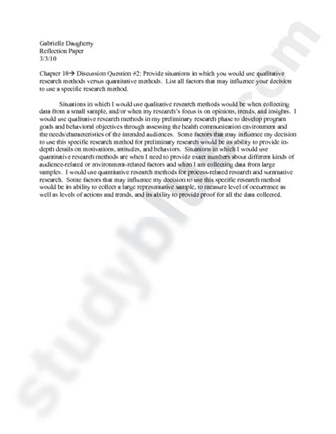 Research Reflection Essay by Research Reflection Paper Qualityassignments X Fc2