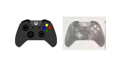 Drawing Xbox by Xbox One Controller Drawing