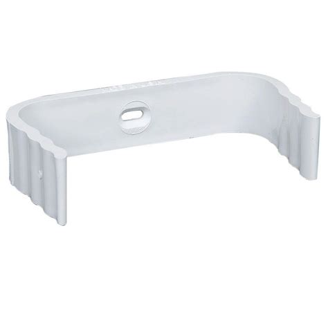 amerimax home products 3 in x 4 in white aluminum