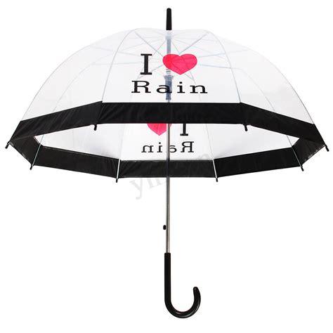 ombrello trasparente a cupola ombrello cupola trasparente moda pioggia citt 224 grande uomo