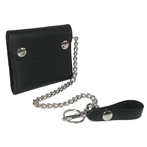 Chain Wallet by Mens Leather Bifold Trucker Chain Wallet By Ctm 174 Chain