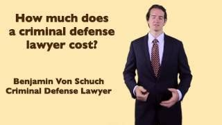 How Much Does A Criminal Record Cost Attorney Fees For Criminal Defense Alot