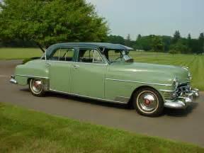 1950s Chrysler 1950 Chrysler Saratoga Information And Photos Momentcar