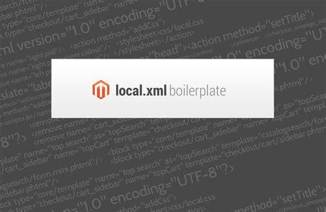 layout local xml magento magento local xml boilerplate