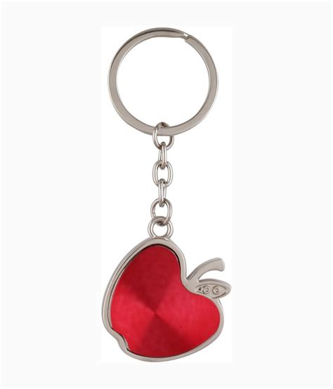 apple keychain egizmos apple shape keychain buy online at low price in