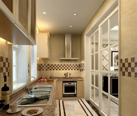 Sliding Door Design For Kitchen Kitchen Design With Cabinets Stove Sliding Doors 3d House