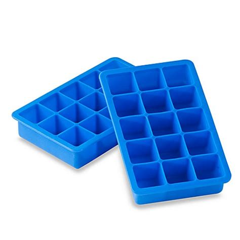 58 at home furniture store utah blue silicone ice blue silicone ice cube tray bed bath beyond