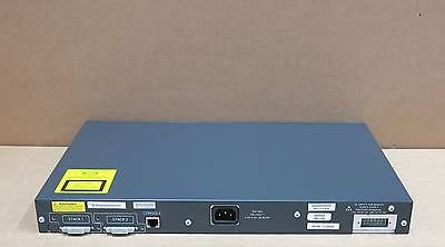 Cisco Catalyst 3750 24 Port Ws C3750 24ps E new cisco ws c3750 24ps s 3750 24 port stackable poe network switch