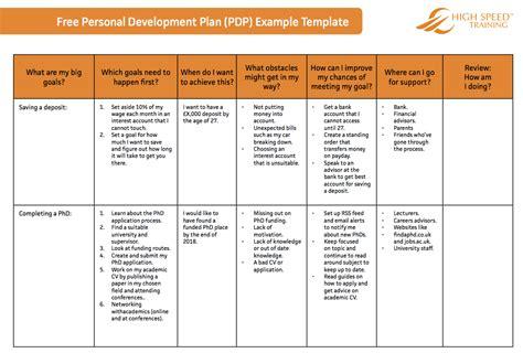 emily grace pdp action plan