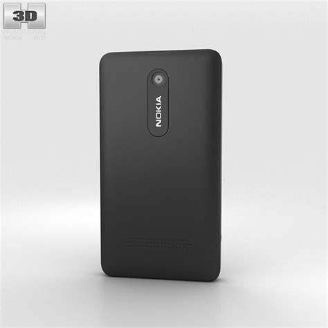 nokia asha 210 black themes nokia asha 210 black 3d model hum3d